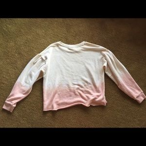American Eagle Outfitters Tops - American Eagle Puff Sleeve Sweatshirt Size XS